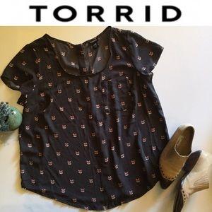 Torrid Fox Top M/L 00